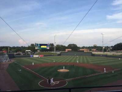 Spirit Communications Park, section: 203, row: B, seat: 2