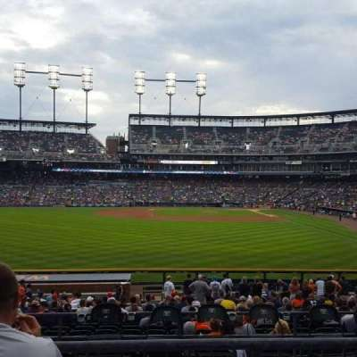 Comerica Park, section: 148, row: CC, seat: 15