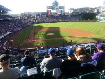 Coors Field, section: 226, row: 6, seat: 5
