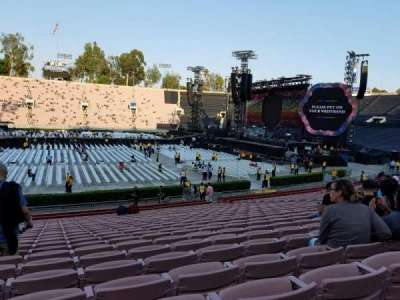 Rose Bowl, section: 18, row: 25, seat: 115