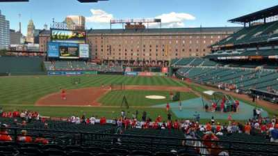 Oriole Park at Camden Yards, section: 49, row: 7, seat: 7