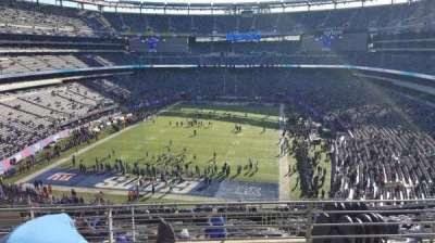 MetLife Stadium, section: 249B