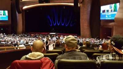 The Grand Theater at Foxwoods section Parterre