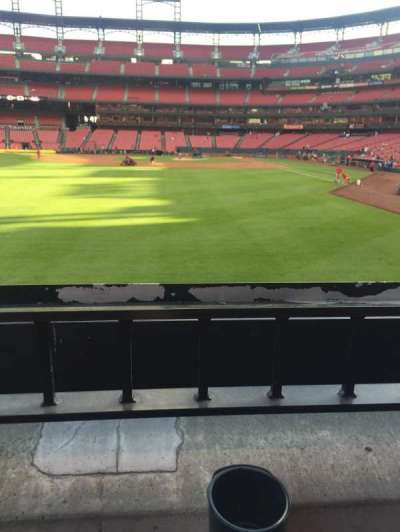 Busch Stadium, section: 172, row: 1, seat: 1-4