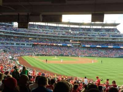 Nationals Park, section: 136, row: TT, seat: 5