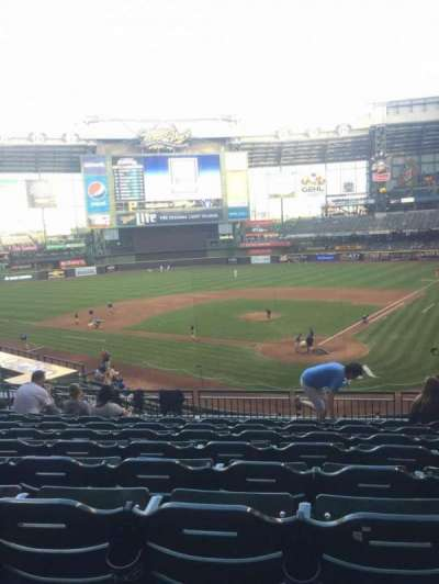 Miller Park, section: 220, row: 9