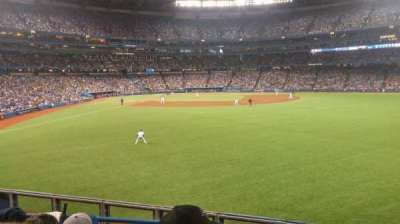 rogers centre, section: 106, row: 4, seat: 8