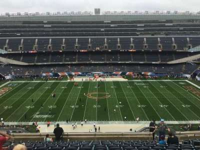 Soldier Field, section: 437, row: 12, seat: 13