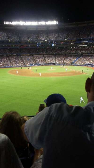 Rogers Centre, section: 243R, row: 6, seat: 10