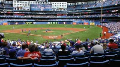 Rogers Centre, section: 122L, row: 30, seat: 110