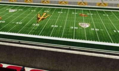 Sun Devil Stadium, section: 203, row: 1, seat: 15