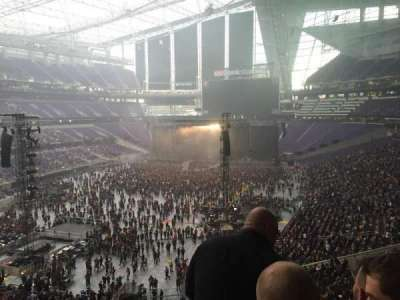 U.S. Bank Stadium, section: 220, row: 3, seat: 13