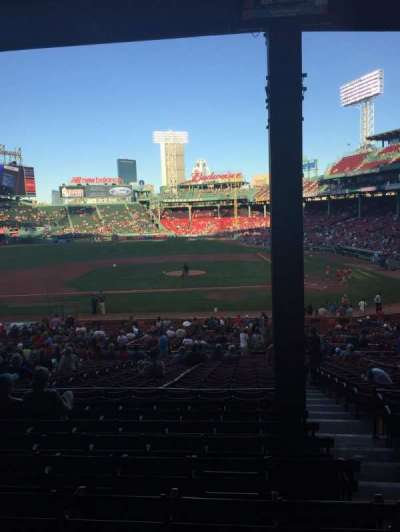 Fenway Park, section: 25, row: 9, seat: 2