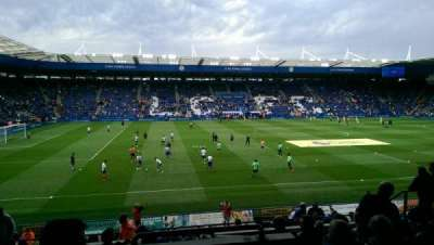 King Power Stadium, section: H1, row: V, seat: 164