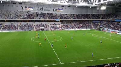 Tele2 Arena, section: B307, row: 4, seat: 290