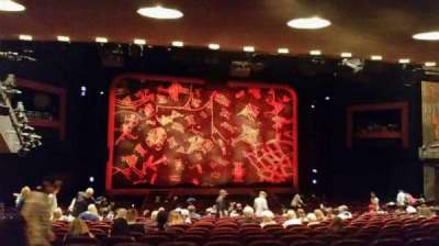Minskoff Theatre, section: Orch, row: YY, seat: 104