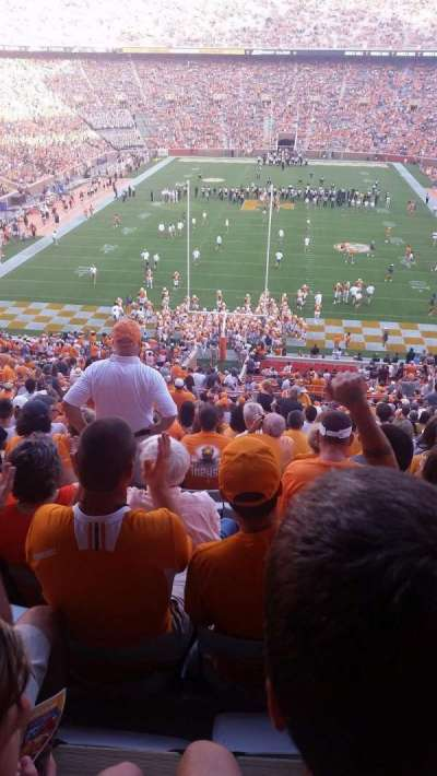Neyland Stadium, section: Y8, row: 45, seat: 5
