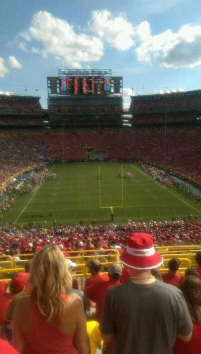 Lambeau Field, section: 301, row: 7, seat: 26