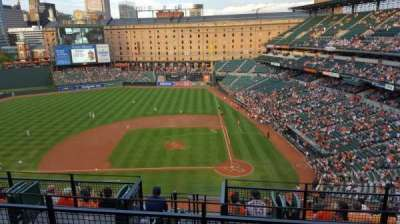 Oriole Park at Camden Yards section 348