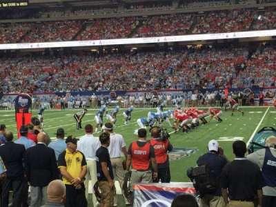 Georgia Dome, section: 133, row: 1, seat: 16