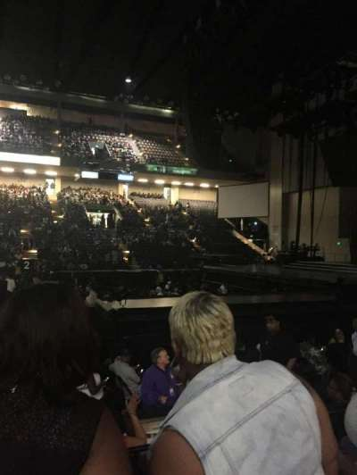 Royal Farms Arena, section: 108, row: D, seat: 3