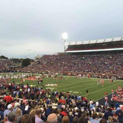 Vaught-Hemingway Stadium, section: A, row: 24, seat: 10