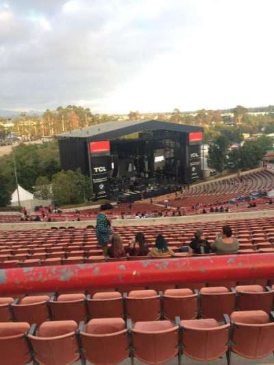 Irvine Meadows Amphitheatre section Lawn