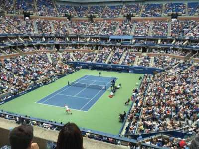 Arthur Ashe Stadium, section: 121, row: C, seat: 9