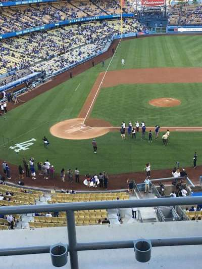 Dodger Stadium, section: RS10, row: C, seat: 6