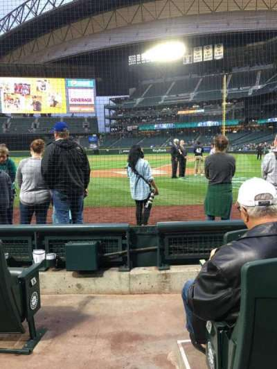 Safeco Field, section: 33, row: D, seat: 15