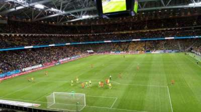 Friends Arena, section: 222, row: 4, seat: 189