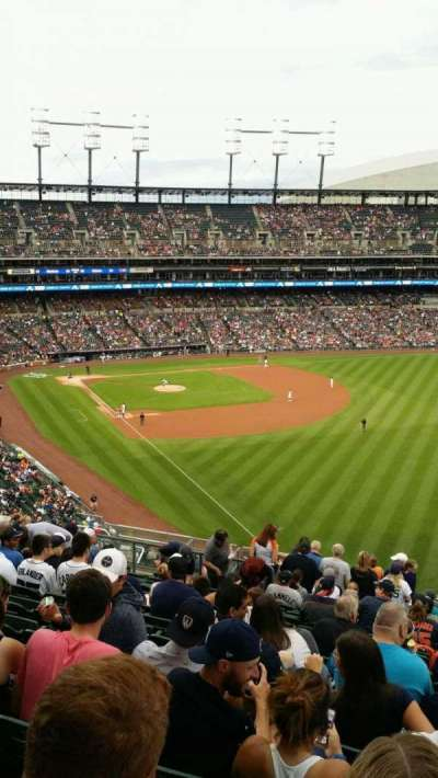 Comerica Park, section: 211, row: 18, seat: 7