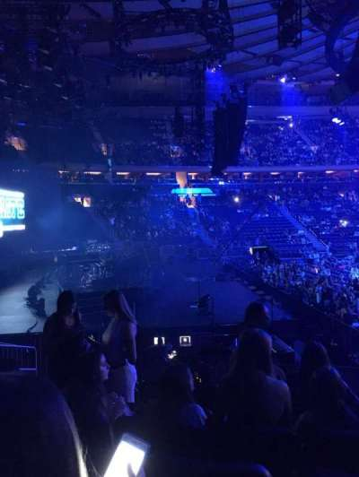 Madison Square Garden, section: 115, row: 10, seat: 7