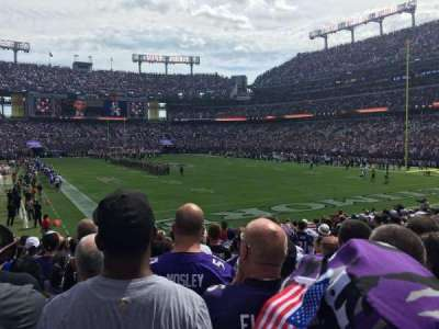 M&T Bank Stadium, section: 144, row: 17, seat: 5