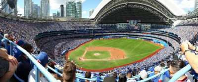 Rogers Centre, section: 519L, row: 15, seat: 107