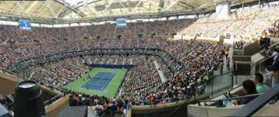 Arthur Ashe Stadium, section: 303, row: E, seat: 5
