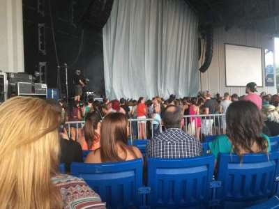 PNC Music Pavilion, section: 3, row: M, seat: 19-20
