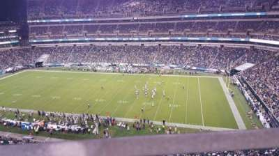 Lincoln Financial Field, section: 204, row: 1, seat: 7