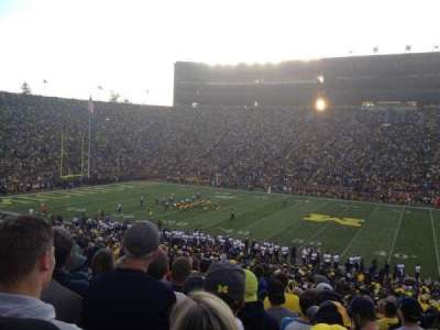 Michigan Stadium, section: 44, row: 48, seat: 11,12