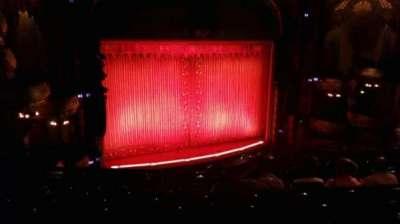 New Amsterdam Theatre, section: MEZZ, row: JJ, seat: 19