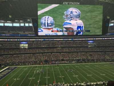 AT&T Stadium, section: 312, row: E, seat: 7