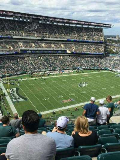 Lincoln Financial Field, section: 220, row: 12, seat: 9