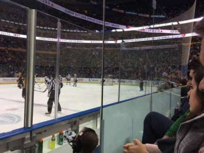 First Niagara Center, row: C