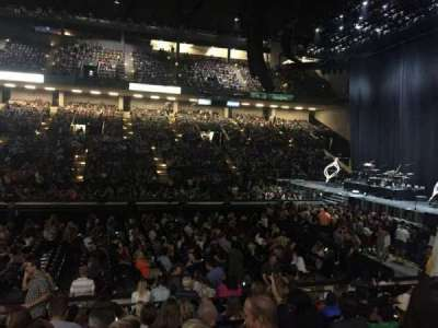 Royal Farms Arena, section: 108, row: J, seat: 11