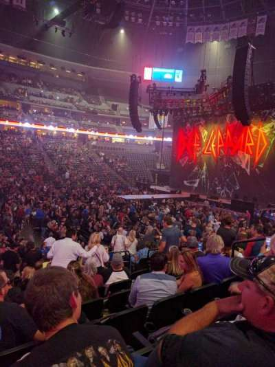 Pepsi Center, section: 102, row: 14, seat: 8