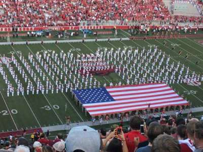 Razorback Stadium, section: 506, row: 28, seat: 32