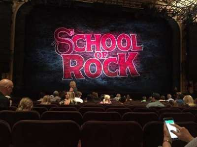 Winter Garden Theatre, section: Orchestra Center, row: N, seat: 115