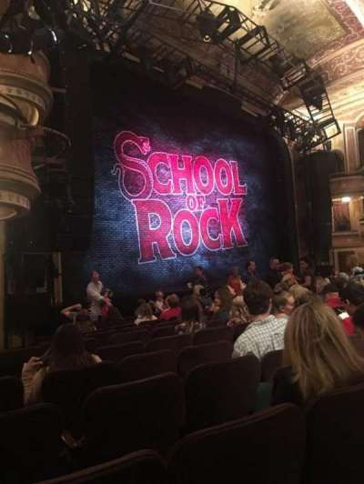 Winter Garden Theatre, section: Orchestra, row: L, seat: 31