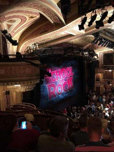 Winter Garden Theatre, section: Mezzanine Left, row: d, seat: 19
