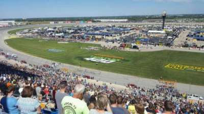 Chicagoland Speedway, section: 107, row: 64, seat: 8